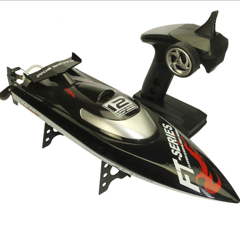 2 4G Remote Control Boat Brushless High Speed Remote Control Speedboat 45KM H Water Cooling Automatic Support System RC Ship in RC Boats from Toys Hobbies