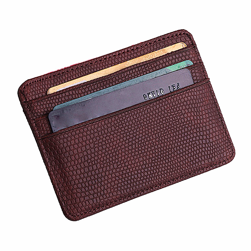 Fashion Women Lichee Pattern Bank Card Package Coin Bag Card Holder Small Female Purse Vintage Matte Women Wallet leo ventoni кошелек мужской leo ventoni