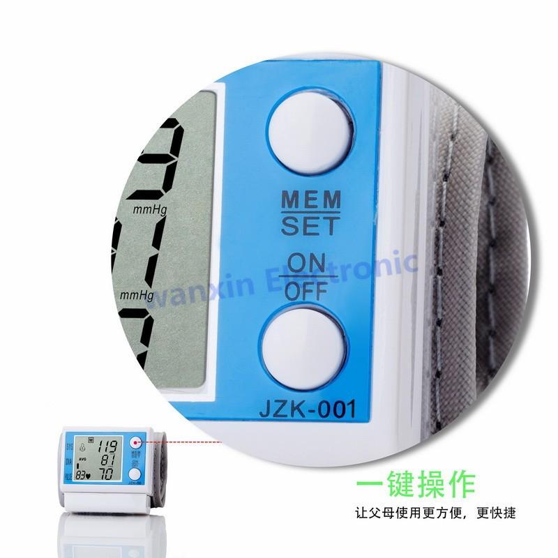16 New Household Health Monitors Wrist Blood Pressure Monitor Automatic Digital Medical Equipment Health care Sphygmomanometer 4