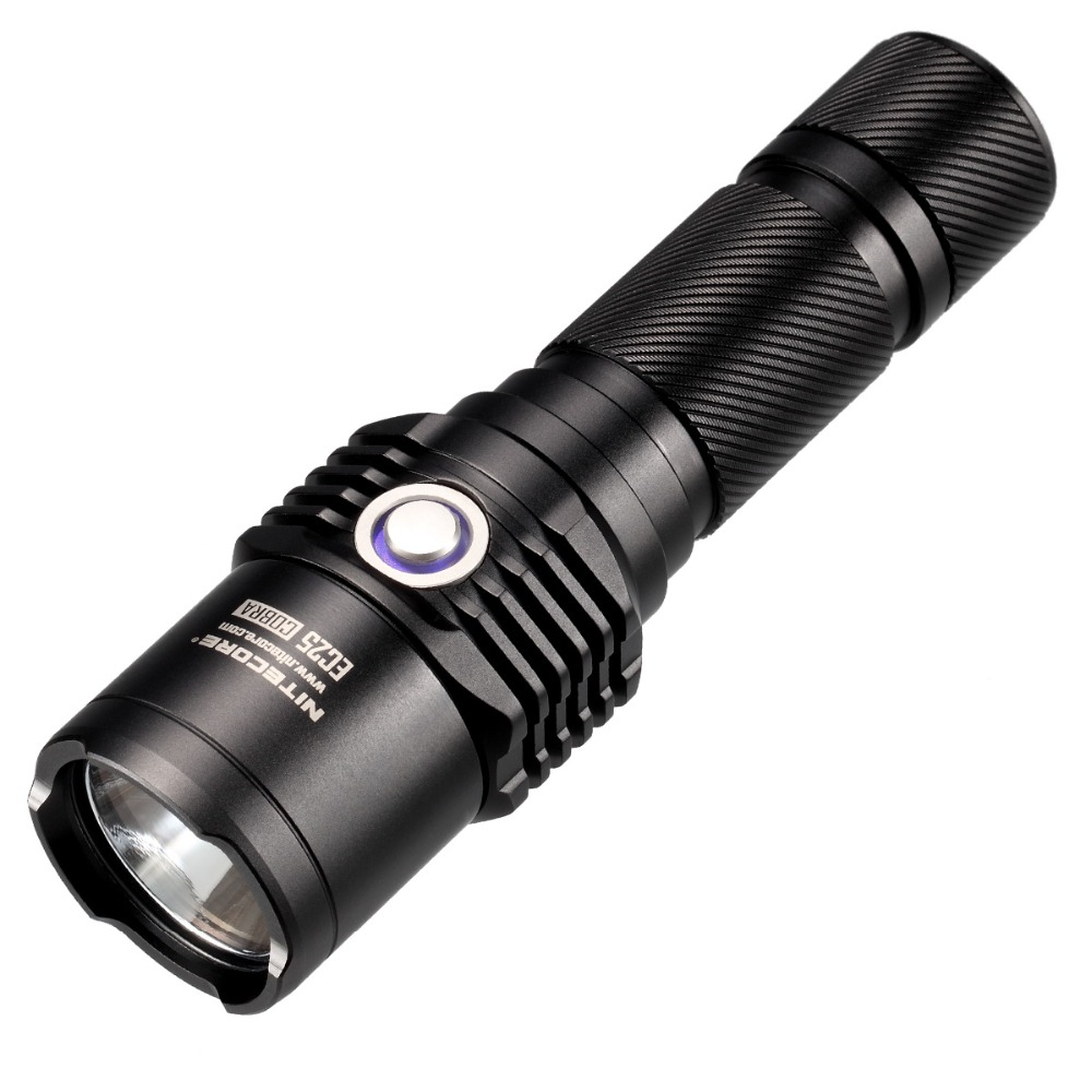 20%OFF NITECORE EC25  960LMs CREE XM-L U2 LED Flashlight  8 Mode Waterproof Outdoor Camping Hunting Portable Torch Free shipping 2017 new nitecore p12 tactical flashlight cree xm l2 u2 led 1000lm 18650 outdoor camping pocket edc portable torch free shipping