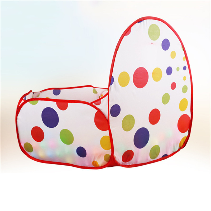 Aliexpress.com  Comprar Kids Play Tent Ball pit piscina con Baloncesto aro  rojo con cremallera bolsa de almacenamiento con cremallera para niños  pequeños ... e29452581b91c