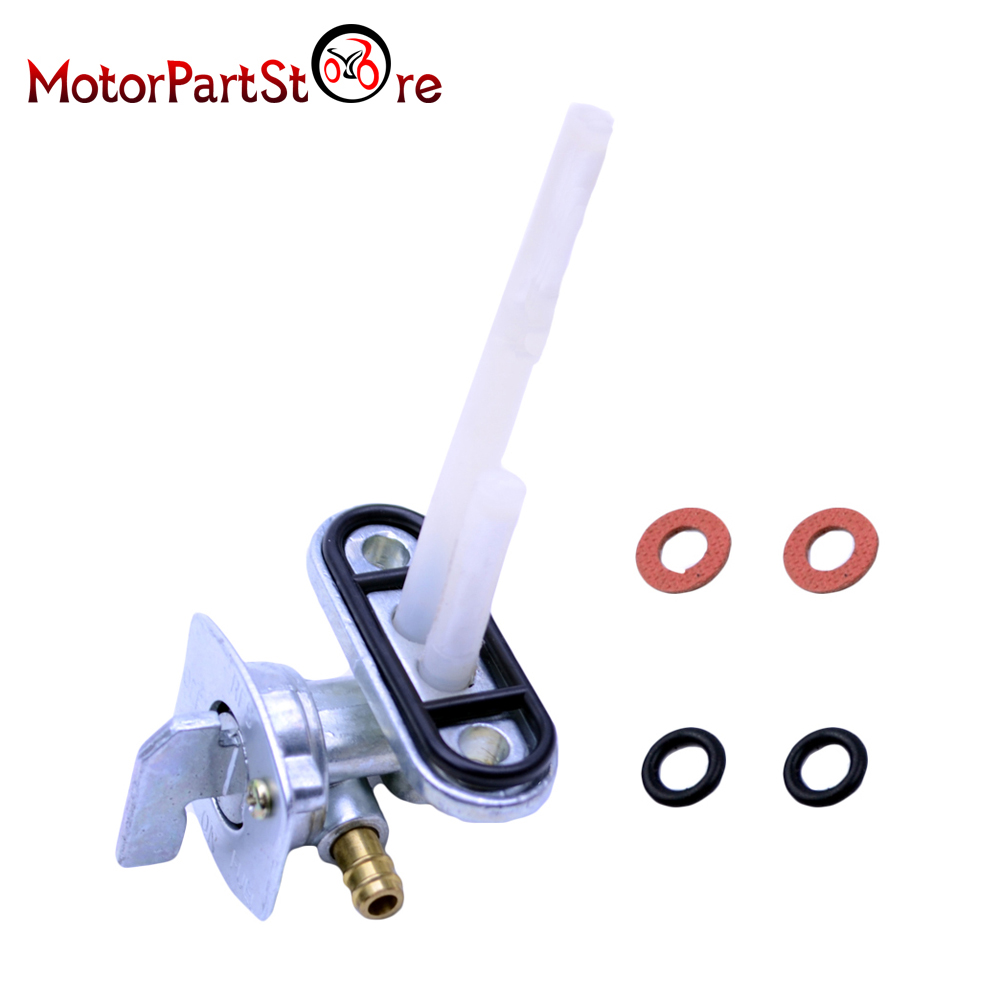 Motorcycle Fuel Petcock Petrol Tank Tap Switch For Suzuki LT160 160E 230E LTF160 230 Pit Dirt Bike ATV Quad Go Kart Scooter