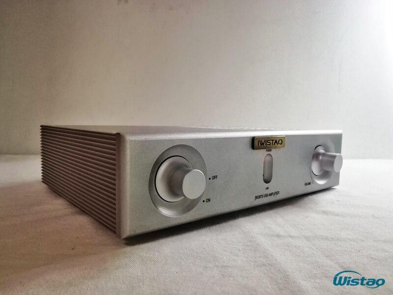 2X50 Вт HiFi Мощность Усилители домашние аудио стерео 2 SK3875 ess9023 USB и смартфон OTG декодирования весь Алюминий корпус