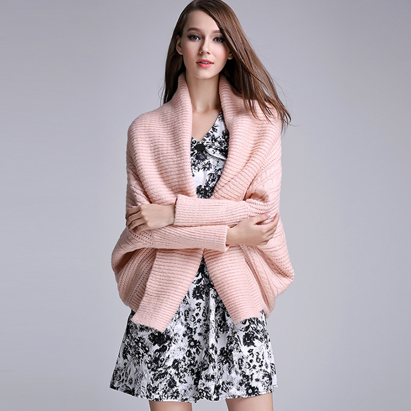 New 2017 Autumn Winter Woman Cardigans Sweater Lady Casual Solid ...