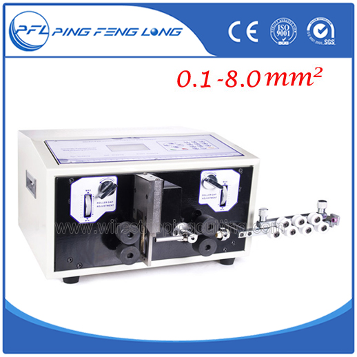 Electric Wire Cutting Machine PFL 03/Fully Wire Stripping Machine ...