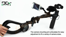 PGY Shoulder Mount Holder Shooting Extendable arm Camera Accessories Hands Shoulder camera support For Osmo