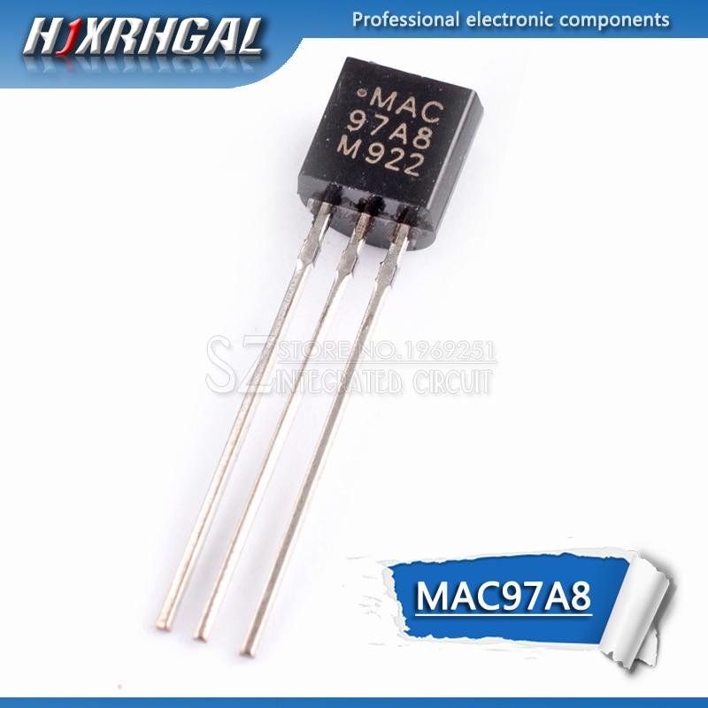 50pcs MAC97A8 97A8 Logic level triac TO-92 NEW