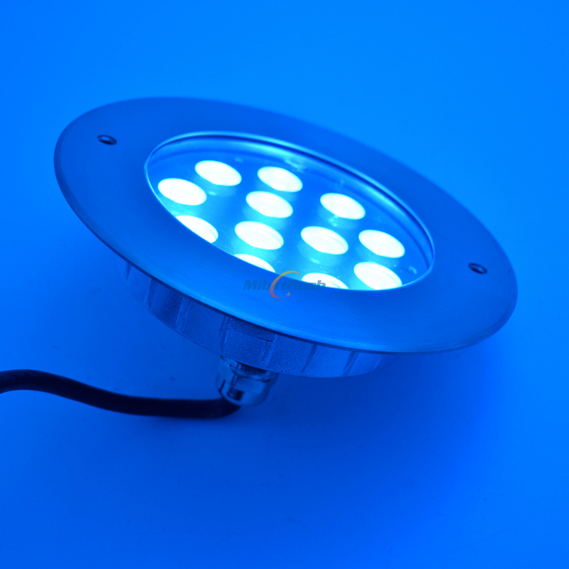 DC24V 36W LED Underwater Light IP68 Waterproof Pool Lamp Lighting 316 Stainless Steel Color Changing warm white