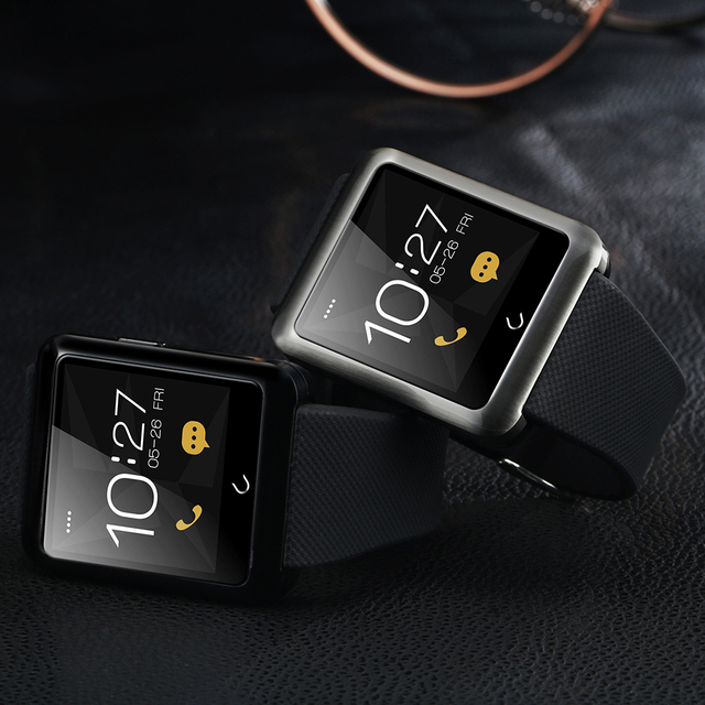 New FLOVEME D5 Smart Watch – Sim Card With Android IOS, Bluetooth Connectivity, Remote Camera, Intelligent Clock, Sport Bracelet Band