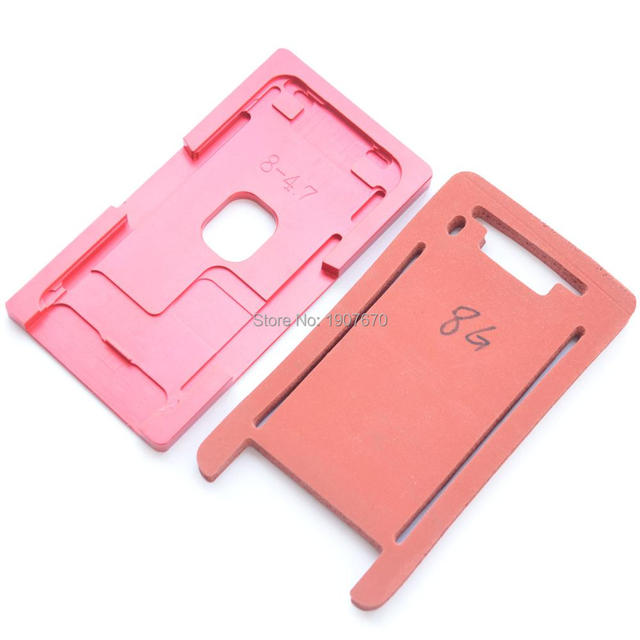 New front glass frame Precision aluminium mould for iPhone 8&8 plus Laminator metal mold with mat