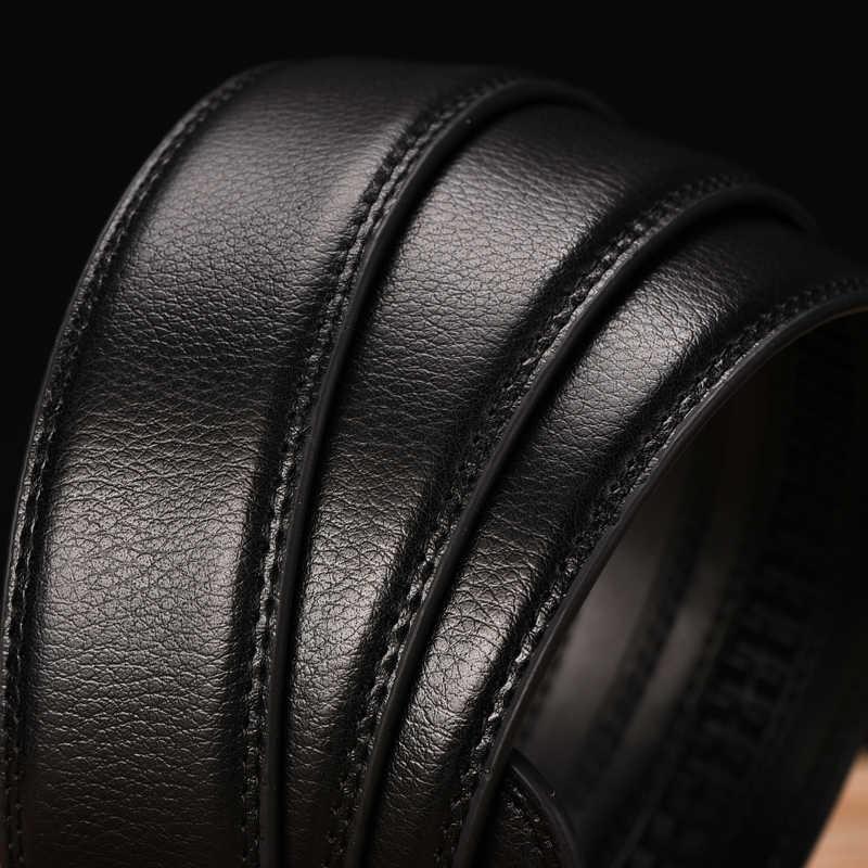Dinisiton Baru Mewah Ikat Pinggang untuk Pria Berkualitas Tinggi Kulit Desain Sabuk Fashion Otomatis Gesper Sabuk Kasual Tali LZD11