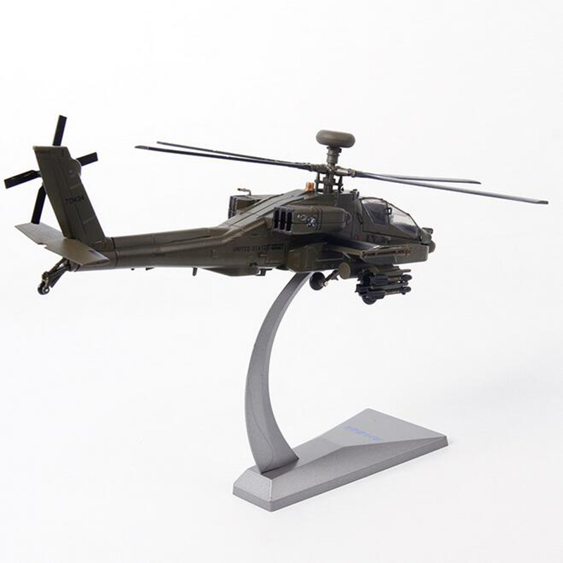 1/72 Scale US American AH-64A APACHE Helicopter Army Fighter Aircraft Airplane Static Models Adult Children Toys Gifts Military1/72 Scale US American AH-64A APACHE Helicopter Army Fighter Aircraft Airplane Static Models Adult Children Toys Gifts Military