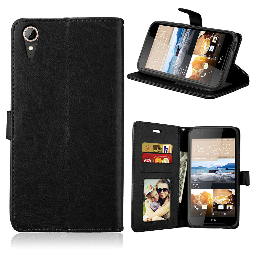 For HTC Desire 828 dual sim Luxury Book Style PU Leather Wallet Case For HTC desire 830 Flip Cover Stand Card Slots