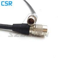 RS 3pin Güç Çıkışı Hirose 4-pin dişi SmallHD DP7-PRO  SmallHD AC7-OLED monitör güç kablosu