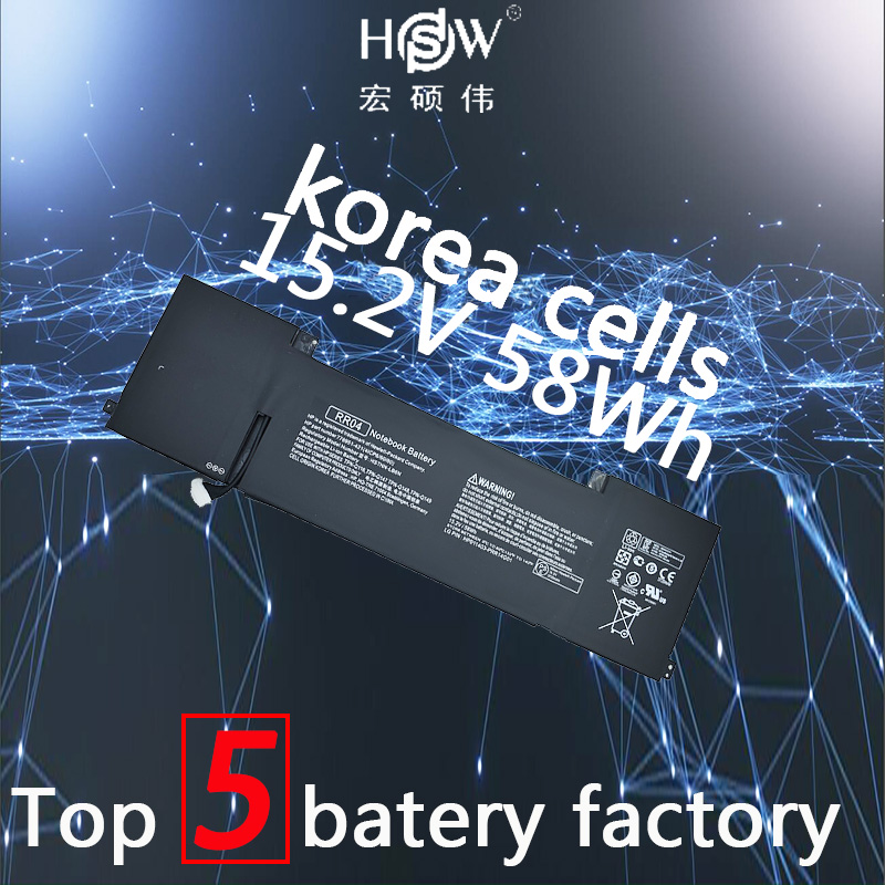 HSW RR04 Battery for HP Omen 15 15-5014TX 778951-421 (4ICP6/60/80) TPN-W111 HSTNN-LB6N batteria akku 15 2v 58wh rr04 notebook battery for hp omen 15 15 5014tx tpn w111 778951 421 4icp6 60 80 hstnn lb6n