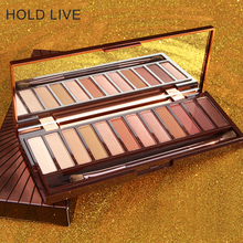 HOLD LIVE 12 Color urban sunset Fashion matte eyeshadow palette glitter eye shadow nude makeup set  Cosmetics make up eye shadow hold live color focus charm show red eye shadow palette nude shadows cosmetics korean makeup 12 colors pigment glitter eyeshadow
