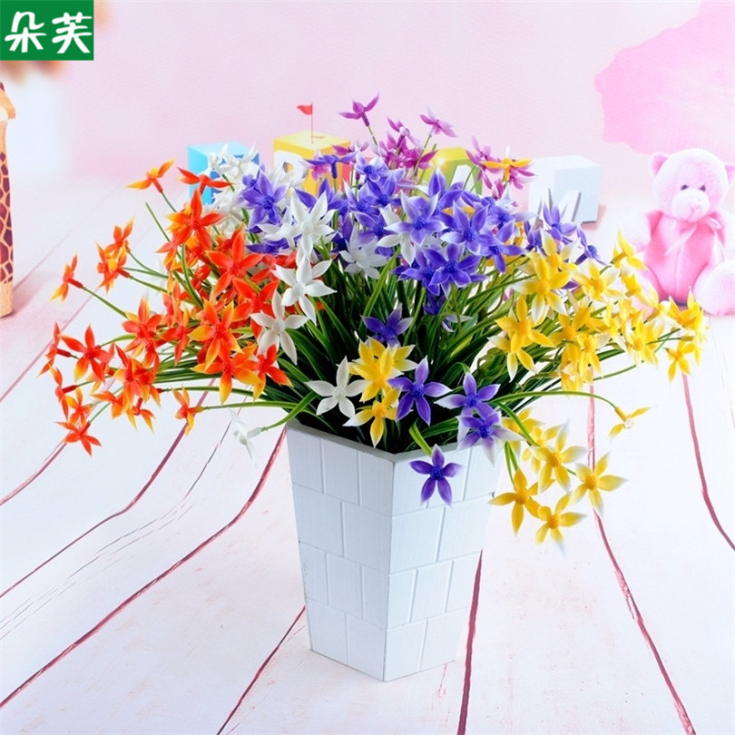 artificial flower living room home decoration engineering ...