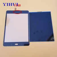 YIHUI For Samsung Galaxy Tab A SM T350 T350 T355 LCD Display With Touch Screen Digitizer