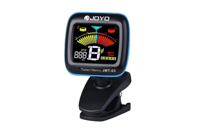 JOYO JMT-03 Color Display LCD Clip on Guitar Tuner Metro Bass/Violin/Ukulele Tuners Free Shipping