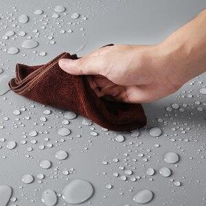 Image 5 - Siyah Beyaz Gri 68 cm * 130 cm 27*51 inç Dikişsiz Su geçirmez PVC Zemin arka plan kağıt için fotoğraf Video Fotoğraf Stüdyosu