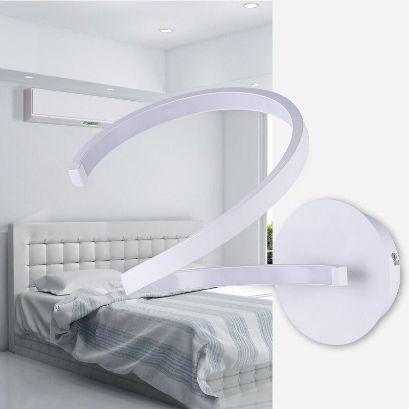 Современные СВЕТОДИОДНЫЕ спальня светильник Настенный светильник ночники вход коридорах