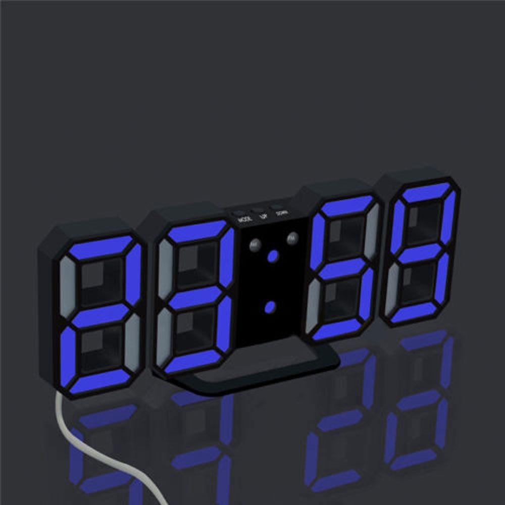 Aliexpress buy modern digital led table desk night wall aliexpress buy modern digital led table desk night wall clock alarm watch 24 or 12 hour display desk clockwall clocksnooze alarm clock from reliable amipublicfo Choice Image