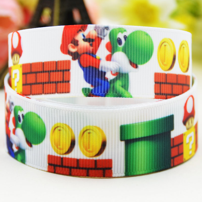 Pokemon Character 22mm Grosgrain Ribbon for Card Making /& Bows