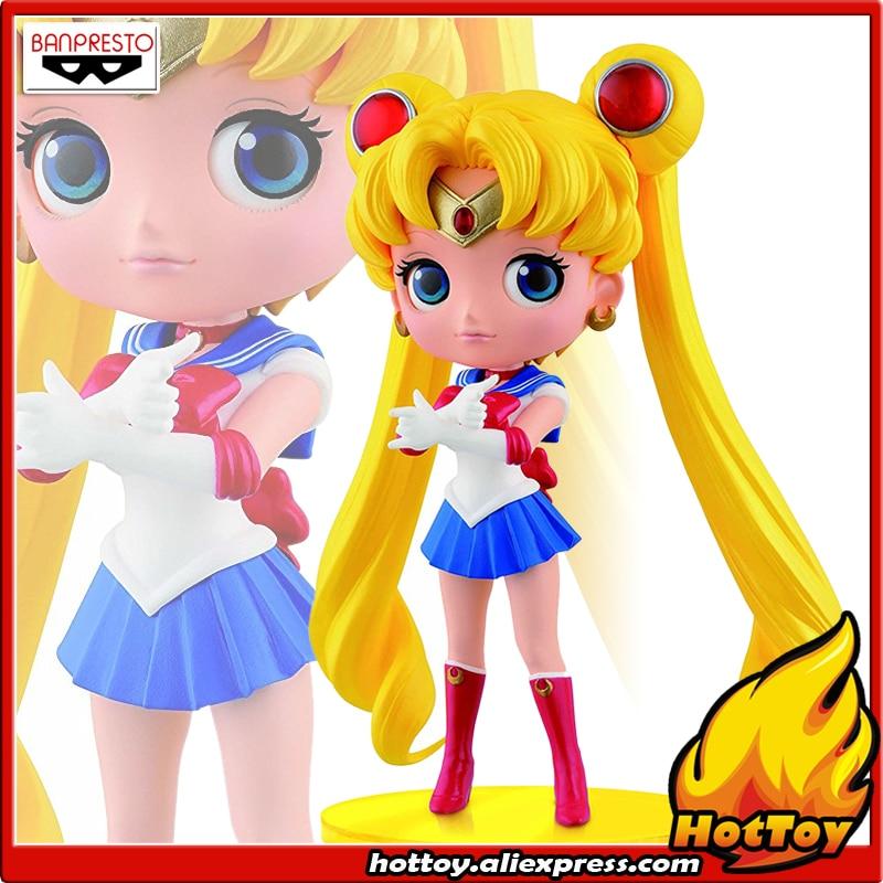 100% Original Banpresto Q Posket Collection Figure - Sailor Moon from Sailor Moon футболка print bar minion sailor moon