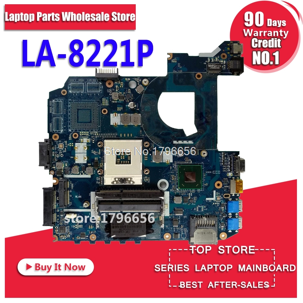 For ASUS K45A K45VD A45V K45VM K45VS A85V motherboard LA-8221P integrated without graphics card Mainboard 100% tested for asus k45vj k45vm 2gb 8pcs of storage laptop motherboard mainboard qcl40 la 8221p tested ok free shipping