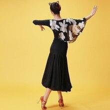 black ballroom dress woman ballroom waltz dresses ballroom dance clothes waltz dance costumes spanish flamenco dress tango
