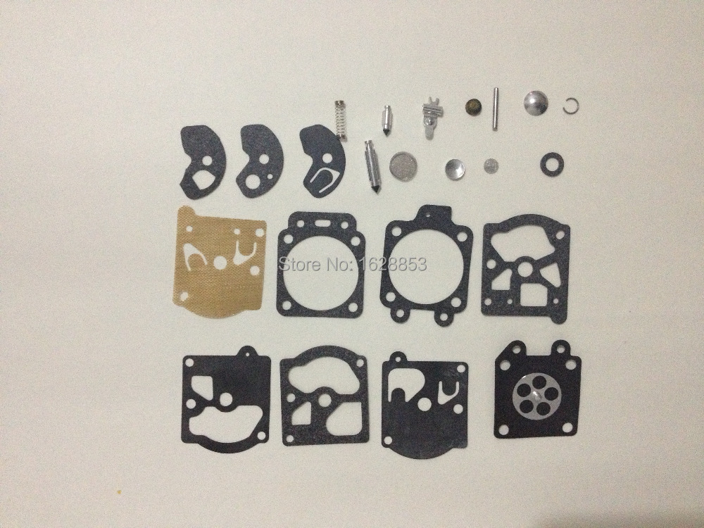 CARBURETOR CARB OVERHUAL  KIT FIT WALBRO K10-WAT WA & WT SERIES STIHL 031 032 028 026 021 dreld carburetor repair kit carb rebuild tool gasket set for walbro k20 wat wa wt stihl hs72 hs74 hs76 hs75 hs80 chainsaw parts