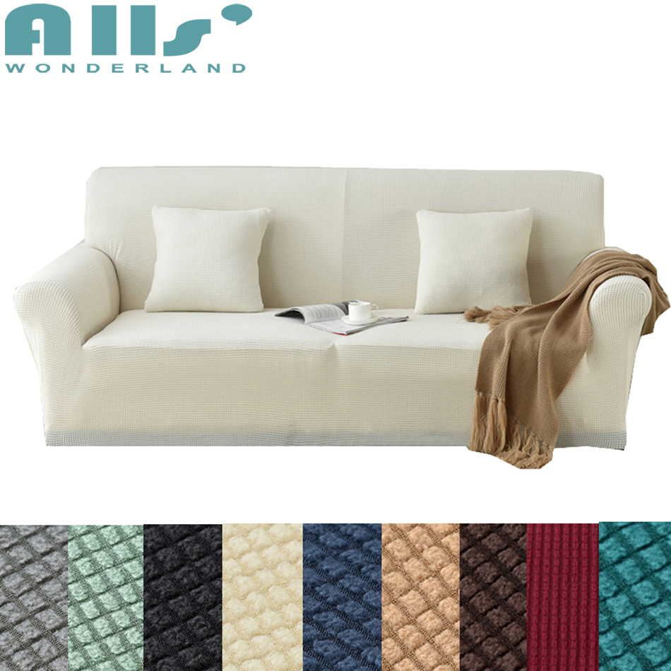 One Piece Free Cushion Cover Elastic Slipcover Sofa Sofa