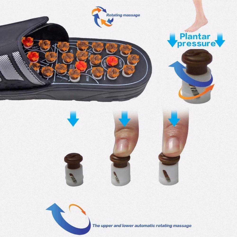 Pijat Kaki Sandal Sepatu Kesehatan Refleksi Sehat Sendal Pebble Batu Di Relaksasi Dari Kecantikan Aliexpresscom