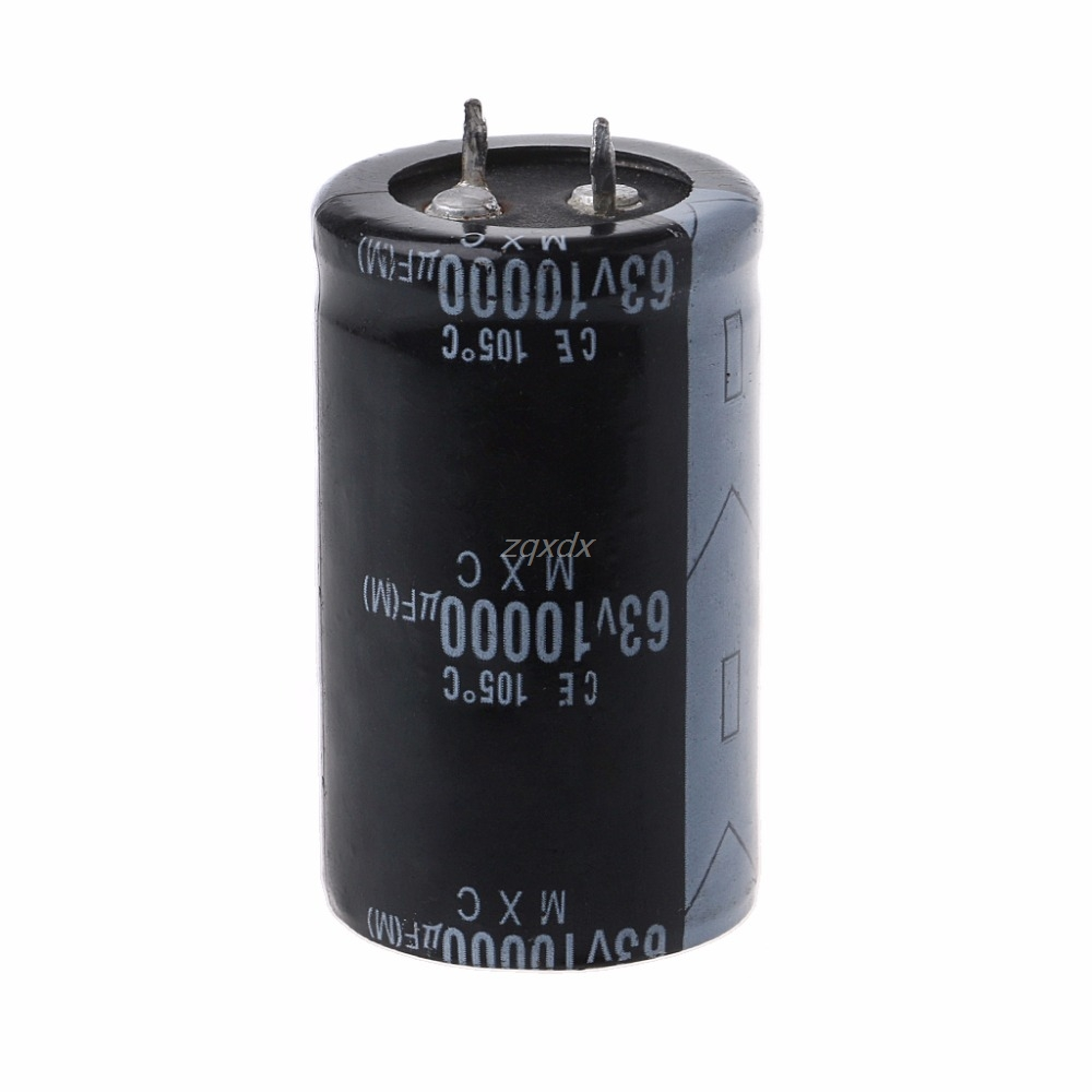 63V 10000UF Long Life High-frequency Electrolytic Capacitor Durable Capacitors Whosale&Dropship