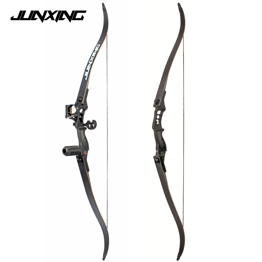 54 inch Recurve Bow 30-50 lbs Riser Length 17 inch American Hunting Bow for Archery Outd ...