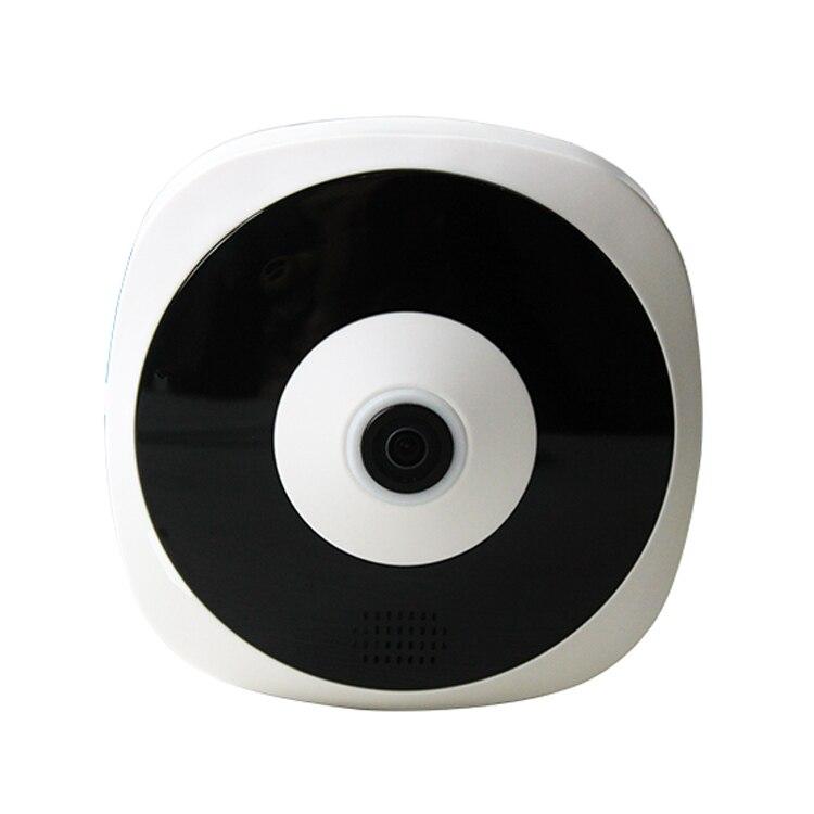 360 Degree Wireless WIFI Panoramic IP Camera 960P 1.44MM Lens Fisheye Camera 1.3MP Network Security Camera Night Vision erasmart hd 960p p2p network wireless 360 panoramic fisheye digital zoom camera white