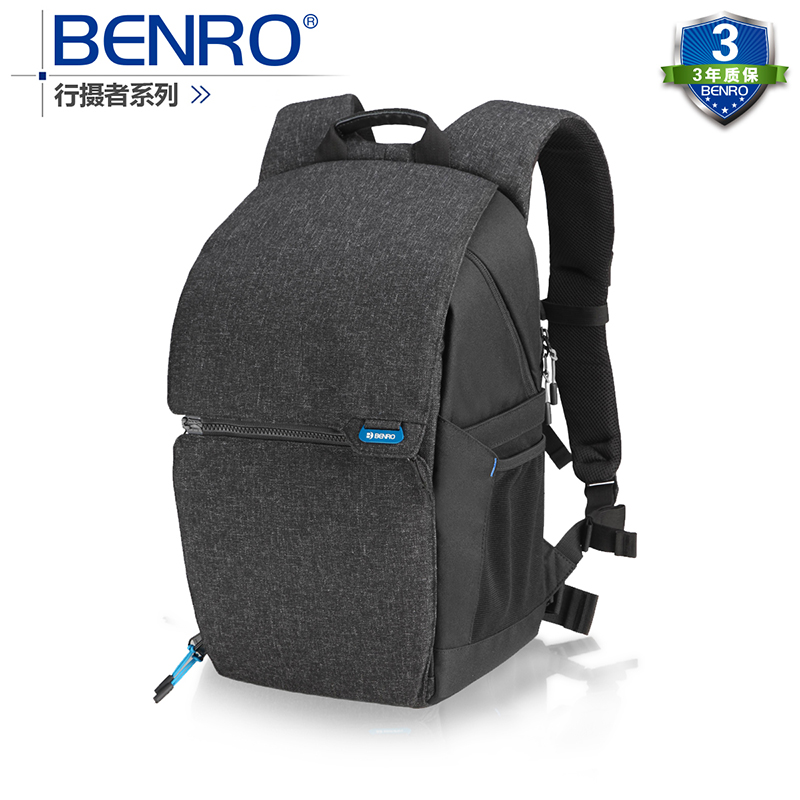 Hot sale Benro Traveler 100 double shoulder SLR professional camera bag camera bag rain cover in Camera Video Bags from Consumer Electronics