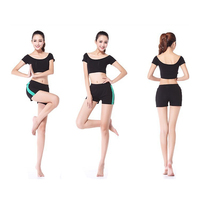 Free Shipping Women's Summer Sexy Short Yoga Suit Exercise Uniform Workout Slim Cut Clothing Lady Clothes Vest and Shorts