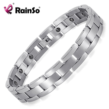 Trend Cool Mens Jewelry High Quality 316L Stainless Steel Contain Hematite Health Care Magnetic Bracelet  JEWAM331800