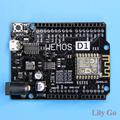 Free shipping! WeMos D1 R2 V2.1.0 WiFi uno based ESP8266 for arduino nodemcu Compatible
