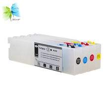 Winnerjet T6141-T6144, T6148 Empty Refill Ink Cartridge with resettable chip For Epson stylus pro 4400 4450 + Free resetter