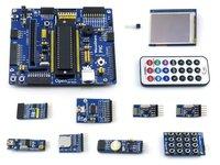 Pacote de Uma placa de desenvolvimento PIC Open18F4520 incluindo Open18F4520 placa PIC18F4520 2.2 polegadas LCD AD Teclado Micro SD Conselho De Armazenamento