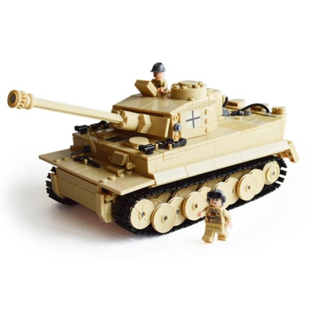 995pcs Century Military Building Blocks German King Tiger Tank Model Enlighten Blocks Education Toys Compatible TY0052