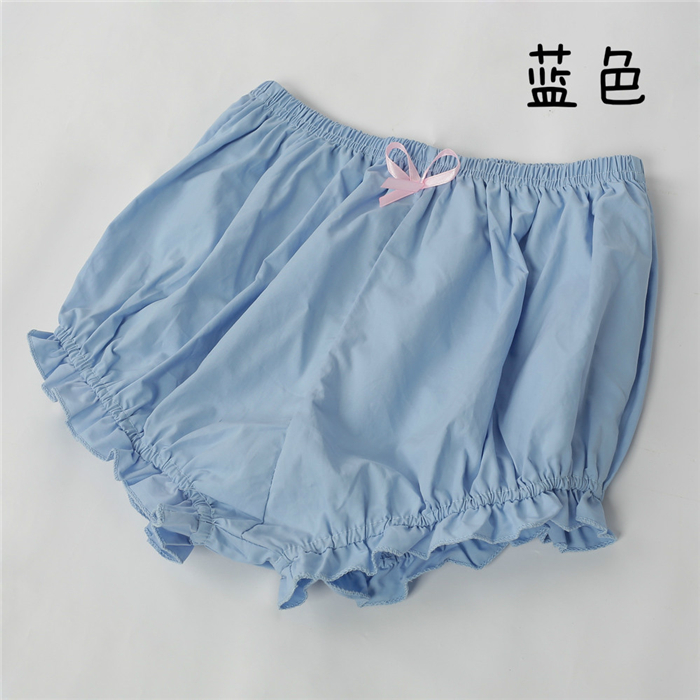 LOLITA Safety Short Pants Shorts underware Leggings cosplay accessories Knickers pumpkin pants free shipping cotton
