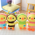 1pc 20cm Cartoon Bee Yellow Chicken plush toys bees chicken doll baby children's day gift kids Doll Plush Animal