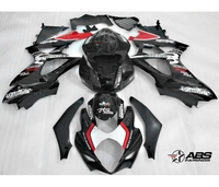 High quality plastic fairings for Suzuki GSXR1000 k7 k8 black motorcycle fairing kit GSXR1000 2007 2008 BL98
