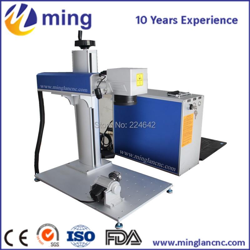 Raycus/IPG 10 W 20 W 30 W 50 W mini laser à fiber machine de marquage