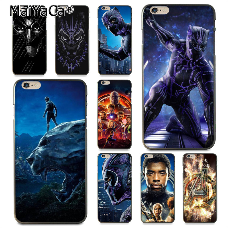 MaiYaCa The Marvel Avengers Infinity War Coque Shell Phone Case  for Apple iPhone 8 7 6 6S Plus X 5 5S SE 5C Cover XS XR XSMAX чехлы марвел