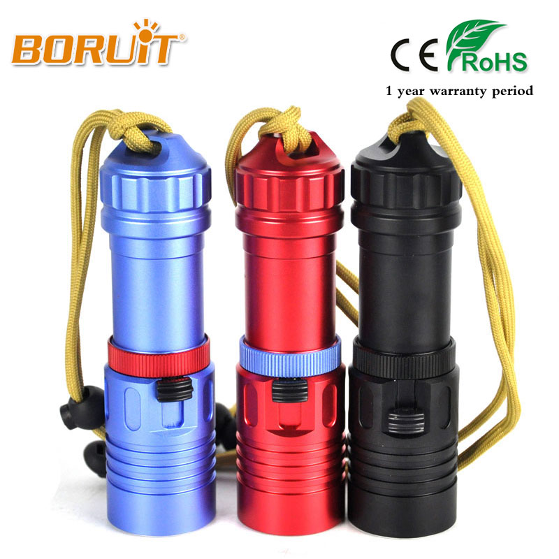 BORUIT 30m Diving XML L2 Linterna LED Waterproof Flashlight 2000 Lumen Underwater Torch Scuba Diver Lamp by 18650/26650 Battery high power 2000 lumen xml l2 led diving flashlight torch waterproof 80m depth underwater diver led flash light lampe torche