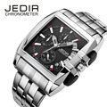 JEDIR Men Watches 2016 Luxury Brand Stainless Steel Men Analog Quartz Watch Men Casual Business Wrist Watch Relogio Masculino